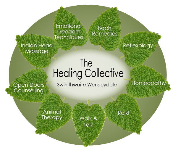 Reiki, Shiatsu, Indian Head Massage, Bach Remedies, Reflexology and Counselling - The Healing Collective, Wensleydale